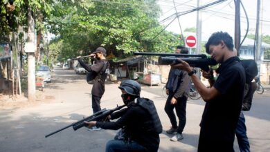 Photo of 25 dead in Myanmar clashes between army, anti-junta fighters