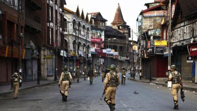 Photo of Indian officials say 8 fighters killed in occupied Kashmir