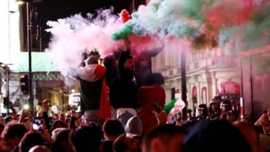 Photo of One dead, several injured during Euro 2020 celebrations in Italy