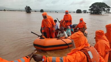 Photo of Death toll from India floods, landslides rises to 127